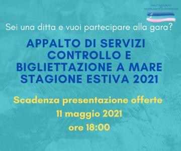 Gara per il controllo e la bigliettazione a mare 2021